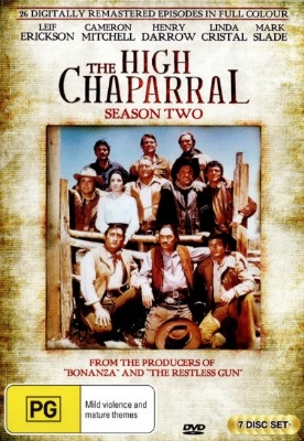 High Chaparral: Complete Season 2 - DVD