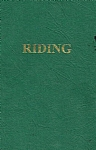Riding - The Pony Club Association of NSW Manual 1989 - PB