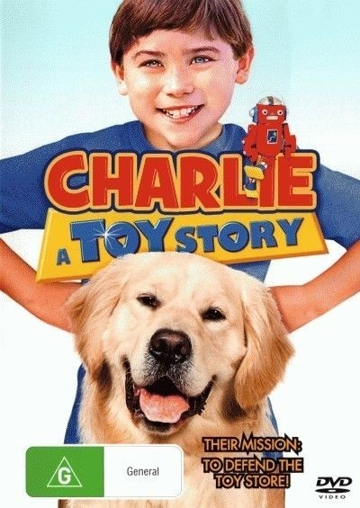 Charlie:  A Toy Story - Family Dog Movie DVD
