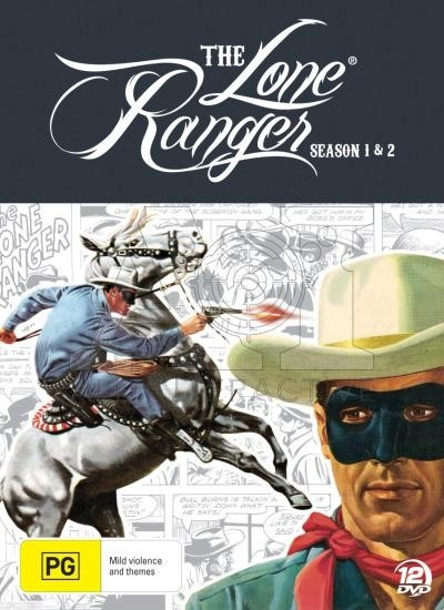 Lone Ranger Complete Season's 1 and 2 Box Set - DVD
