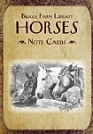 Biggle Farm Library Note Cards: Horses - Stationery Set
