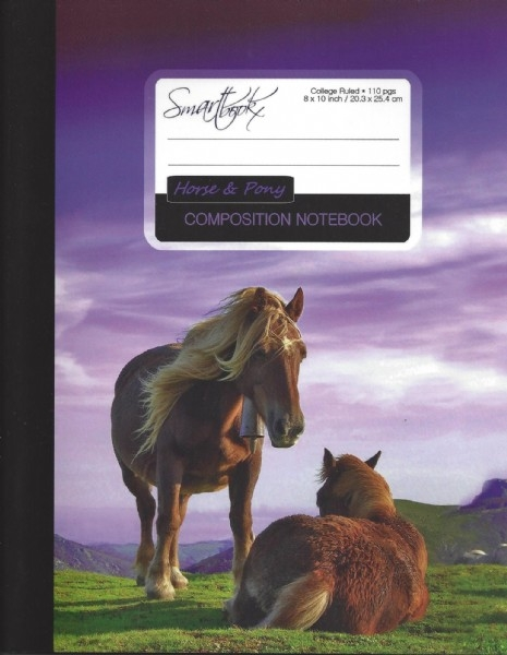 Horse & Pony Composition Notebook