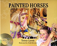 Painted Horses - Board Book with CD - HB