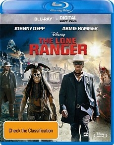 Disney's Lone Ranger Movie - Blu Ray