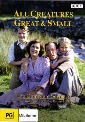 All Creatures Great and Small - Complete Series 4 - DVDs