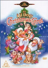 An All Dogs Christmas Carol - DVD
