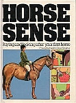 Horse Sense - Buying and looking after your first horse - HB