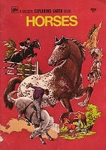 Horses - Aa Golden Exploring Earth Book - PB