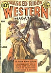 Masked Rider - Western Magazine - March 1938