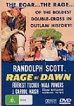 Randolph Scott in Rage at Dawn - DVD