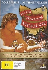 For the Term of His Natural Life - Mini Series - 2 Disc set