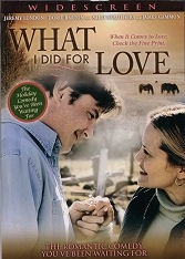 What I Did for LOVE - Region 1 (NTSC) DVD