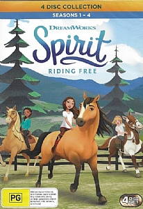 Spirit: Riding Free - Seasons 1 - 4 (4 Disc Collection) - DVD