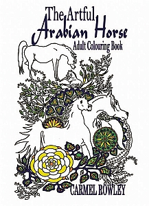 The Artful Arabian Horse Adult Colouring Book