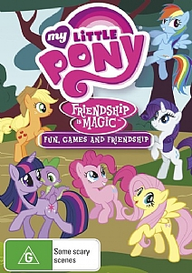 My Little Pony: Friendship is Magic: Fun, Games & Friendship (Vol 4) - DVD