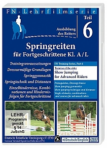 Show Jumping for Advanced Riders with the German Equestrian Federation - DVD