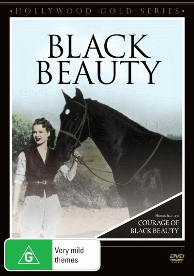 Vintage Black Beauty Double:  Black Beauty (1946) & Courage of Black Beauty (1957)