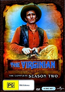 Virginian, The - Complete Season 2 - DVD