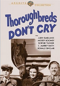 Thoroughbred's Don't Cry - Region 1 (NTSC) DVD