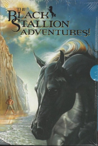 The Black Stallion Adventures - 4 Volume Box Set - PB