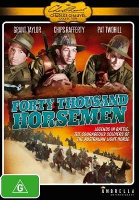 40,000 Forty Thousand Horsemen - Classic Australian Movie - DVD