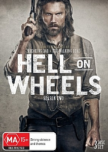 Hell on Wheels - Complete Season 2 - DVD