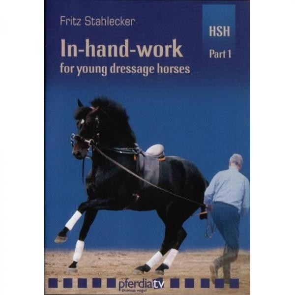IN HAND WORK FOR YOUNG DRESSAGE HORSES: Part 1 Basics - DVD