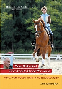 Klaus Balkenhol - From Novice Horse to the Schooled Horse - Vol 2 - DVD