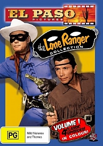 The Lone Ranger (El Paso) Collection Volume 1 - DVD