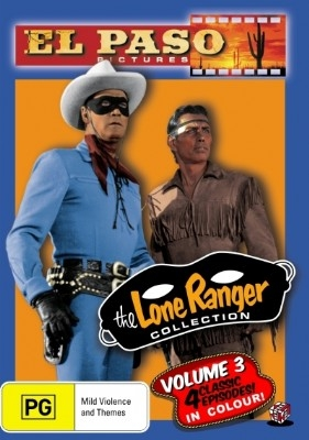 The Lone Ranger (El Paso) Collection Volume 3 - DVD