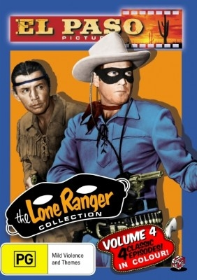 The Lone Ranger (El Paso) Collection Volume 4 - DVD