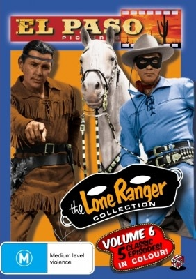 The Lone Ranger (El Paso) Collection Volume 6 - DVD