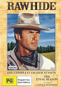 Rawhide Complete Season Eight 8 - DVD
