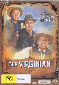 Virginian, The - Complete Season 3 - DVD