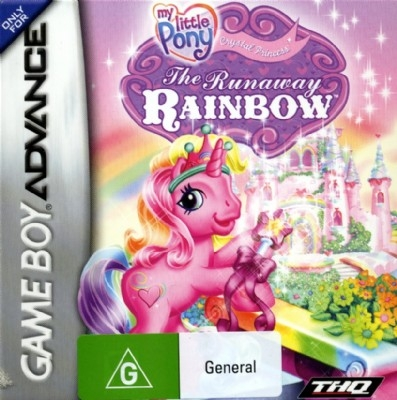 My Little Pony - The Runaway Rainbow - GameBoy Advance