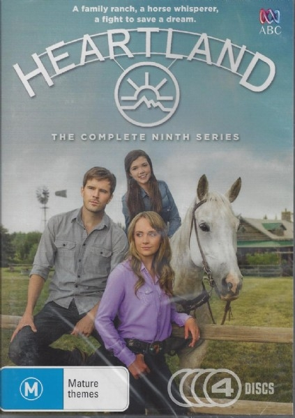 Heartland:  The Complete Ninth Season - Horse TV Series - DVD