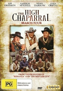 High Chaparral: Complete Season 4 - DVD