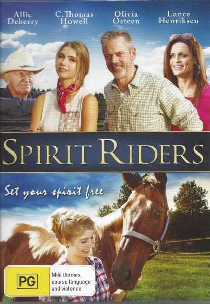Spirit Riders - Family Horse Movie - DVD