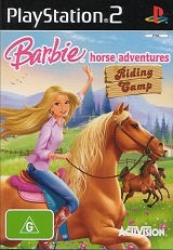 Barbie Horse Adventures - Riding Camp - PS2 Game