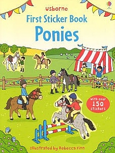 First Sticker Book - Ponies (Usborne)