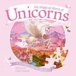 My Magical World of Unicorns - A Glittery Jigsaw Book! - HB