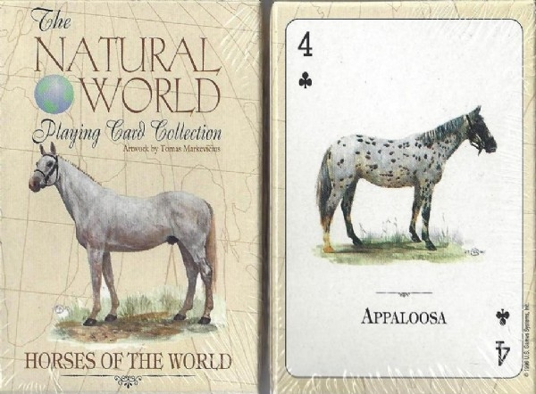 Playing Cards: Horses of the World