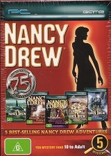 Nancy Drew 5 Game Pack - PC Games