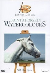 Paint a Horse in Watercolours - DVD