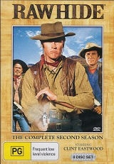 Rawhide the Complete Second Season - DVDs