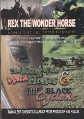 The King of the Wild Horses (1924)/The Black Cyclone (1926) - Double Disc Collector's Edition DVDs